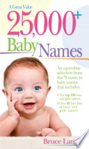 25 000  Baby Names