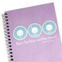 The Baby s Eat  Sleep  and Poop Journal  Lavender