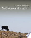 Essential Readings in Wildlife Management and Conservation