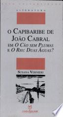 O Capibaribe de João Cabral em O cão sem plumas e O rio