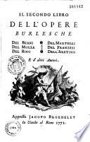 Opere burlesche  e d altri autori