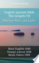 English Spanish Bible The Gospels Vii Matthew Mark Luke John