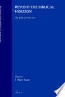 Beyond the Biblical Horizon