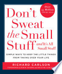 Don't Sweat the Small Stuff and It's All Small Stuff Book Cover