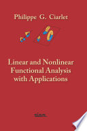 Linear And Nonlinear Functional Analysis With Applications book