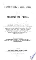 Experimental Researches in Chemistry and Physics