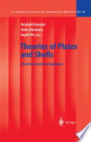 Theories of Plates and Shells