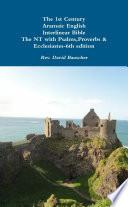 The 1st Century Aramaic English Interlinear Bible Pocket 6th edition