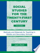 Social Studies for the Twenty First Century