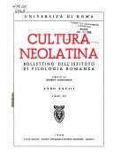 Cultura neolatina