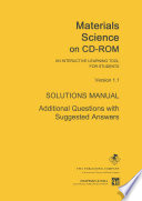Materials Science on CD ROM