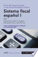 Sistema fiscal espa  ol I  2013