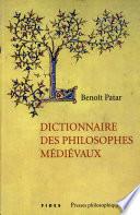 Dictionnaire des philosophes médiévaux