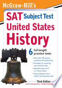 McGraw Hill s SAT Subject Test United States History  3rd Edition