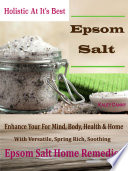 Holistic At It   s Best Epsom Salt