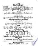 Das jetzt-lebende Königreich Böhmen in einer historisch- und geographischen Beschreibung vorgestellet