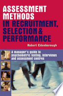 Assessment Methods in Recruitment  Selection   Performance