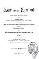Eger und das Egerland, historisch, statistisch und topografisch dargestellt