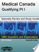 Medical Canada Qualifying Pt I Specialty Review And Study Guide