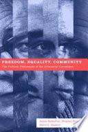 Freedom  Equality  Community