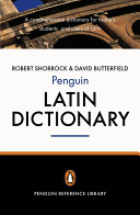 The Penguin Latin Dictionary