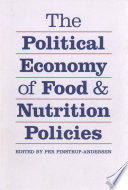 the political economy of food and nutrition policies