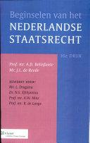 Beginselen van het Nederlandse staatsrecht