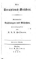 Ausgewählte schriften: Bd. Die Serapions-Brüder