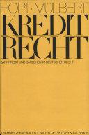 Kreditrecht