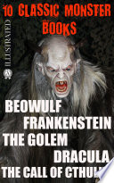 10 Сlassic Monster books. Illustrated