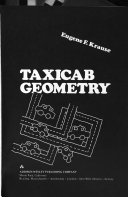 Taxicab geometry