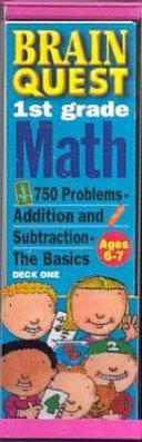 Brain Quest First Grade Math