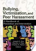 Bullying Victimization And Peer Harassment