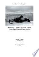 Rim Drive Cultural Landscape Report Book PDF