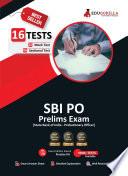 SBI PO Prelims 2021 | 8 Full-length Mock Tests + 6 Sectional Test