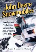 John Deere Snowmobiles