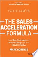 The Sales Acceleration Formula
