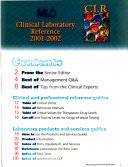 Clinical Laboratory Reference