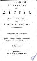 Litteratur der Türken