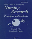 Study Guide to Accompany Nursing Research