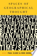 Spaces of Geographical Thought