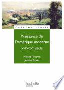 Naissance de l Am  rique moderne   Livre de l   l  ve   Edition 1997