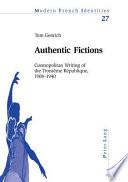 Authentic Fictions