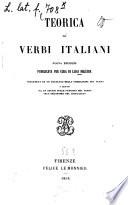 Teorica de'verbi italiani