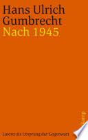 Nach 1945
