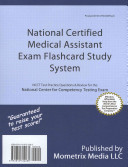 National Certified Medical Assistant Exam Flashcard Study System