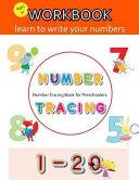 Number Tracing Book for Preschoolers