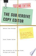 The Subversive Copy Editor  Second Edition