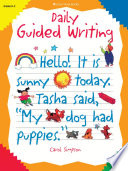 Daily Guided Writing Book Explains How Teachers Can