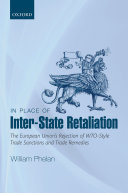 In Place of Inter-State Retaliation